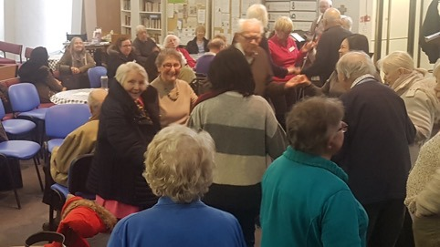 Dementia Club – Members Dancing to Ronnie's songs