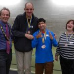 Rotary Disability Games 2016 - Medal Winners